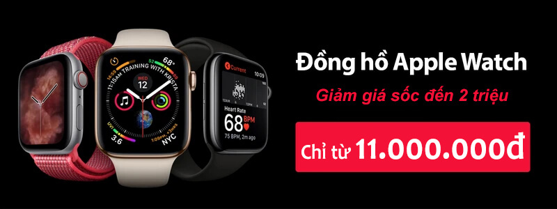Apple Watch giảm sốc.