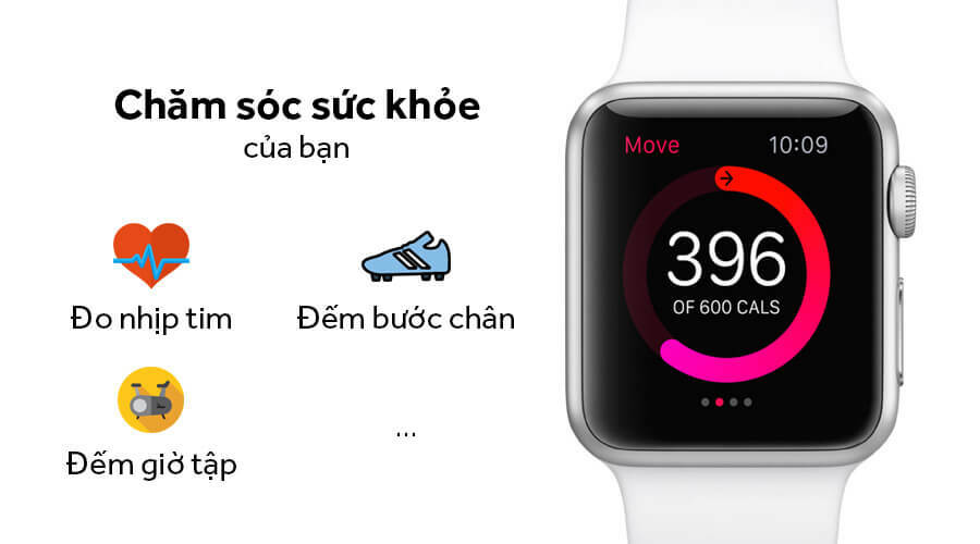 Apple Watch Series 1 38mm NHÔM - Like New 99% - Hình 4