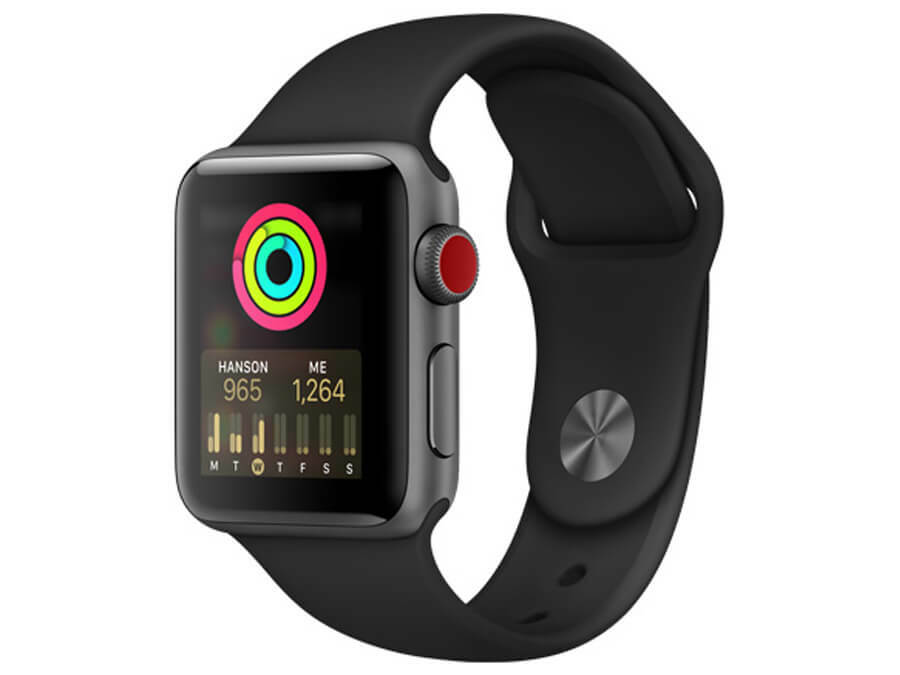 Apple Watch Series 3 38mm THÉP (LTE) - Like New 99% - Hình 1