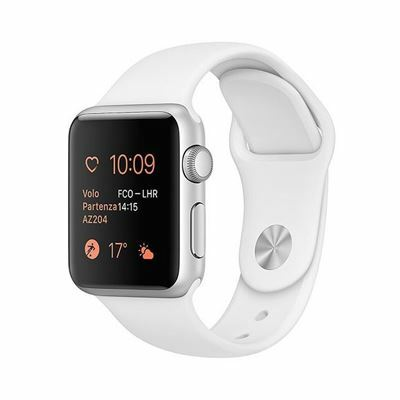 Apple Watch Series 3 GPS, 38mm - Viền Nhôm, Dây Cao Su LL/A
