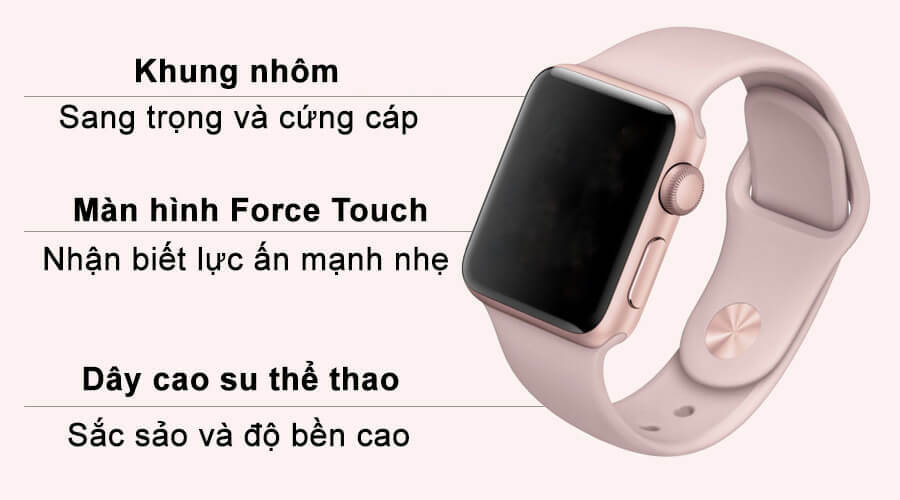 Apple Watch Series 3 38mm Nhôm (GPS) - Like New 99% - Hình 2