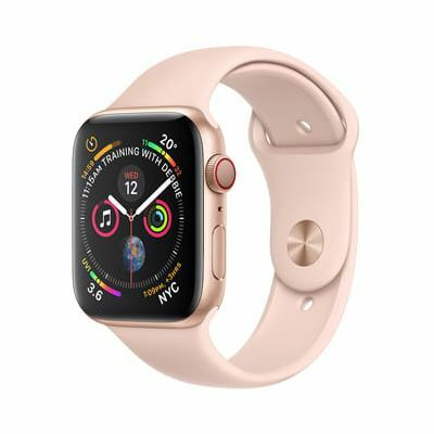Apple Watch Series 4 GPS, 44mm - Viền Nhôm, Dây Cao Su