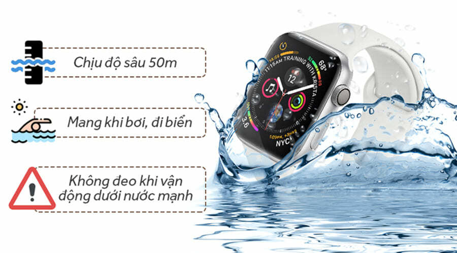 Apple Watch Series 4 44mm Nhôm (GPS) - New 100% - Hình 4