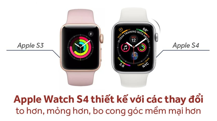 Apple Watch Series 4 44mm Nhôm (GPS) - New 100% - Hình 1
