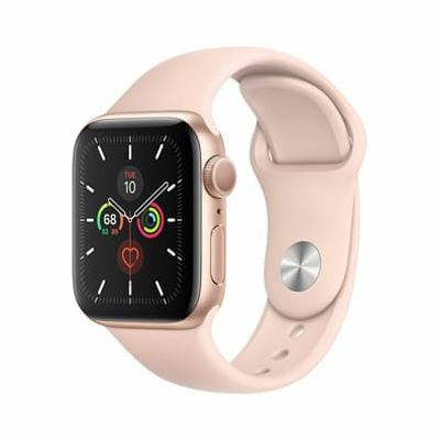 Apple Watch Series 5 GPS, 40mm (CH) - Viền Vàng, Dây Hồng (MWV72)