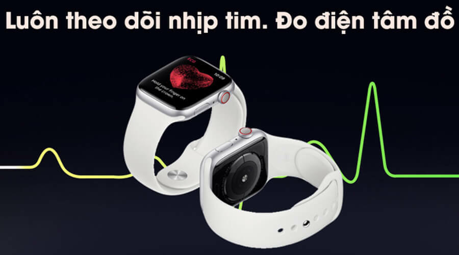 Apple Watch Series 5 44mm NHÔM (GPS) - New 100% - Hình 4