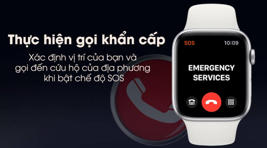 Apple Watch Series 5 44mm NHÔM (GPS) - New 100% - Hình 9