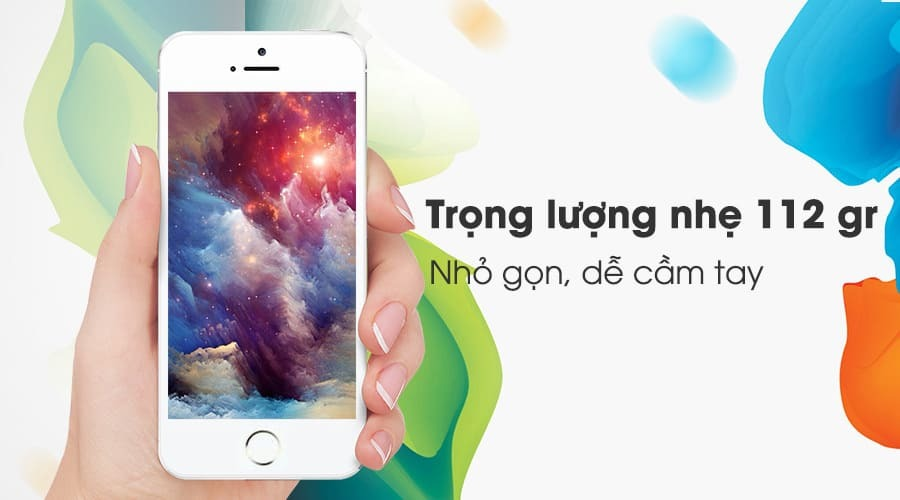 iPhone 5s - Thiết kế truyền thống