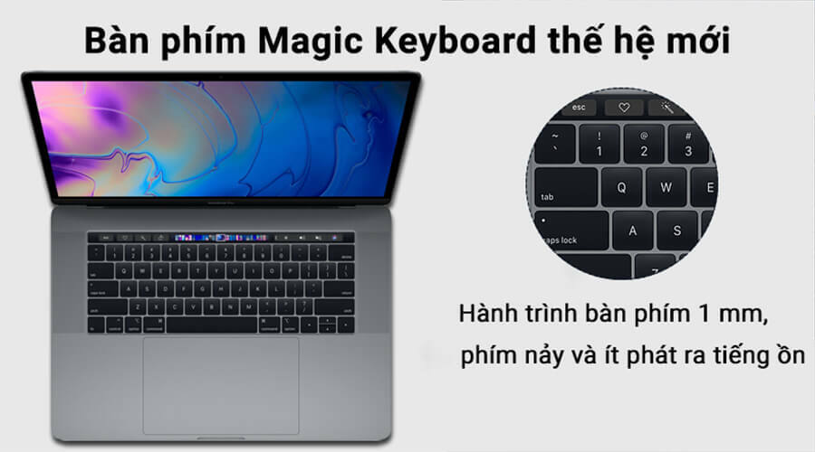 "Apple Macbook Pro 15"" (2019) i7 2.6GHz/16GB/256GB Mới 100% - Hình 2"