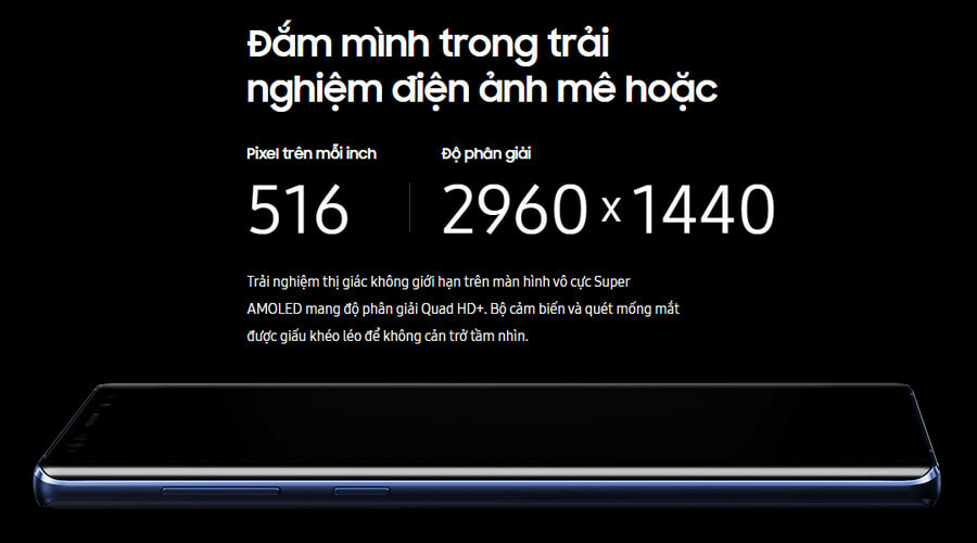 Samsung Galaxy Note 9 512GB - Hình 3